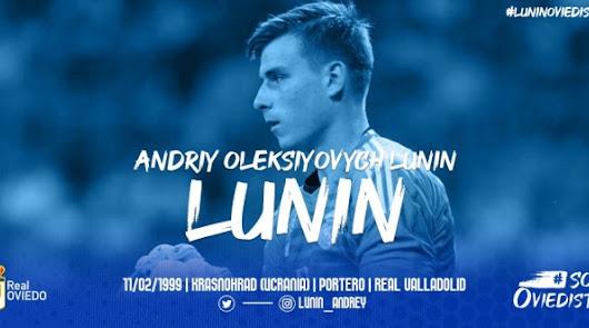 Andri Lunin podría debutar este jueves contra el Almería.