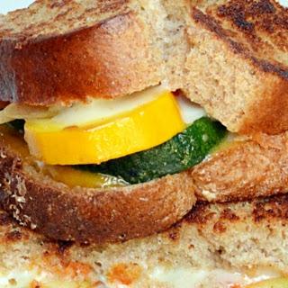 Roasted Zucchini Grilled Cheese #SecretRecipeClub.