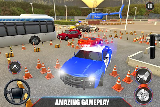Modern Police Car Parking 2020: Multi Level Parker painmod.com screenshots 4