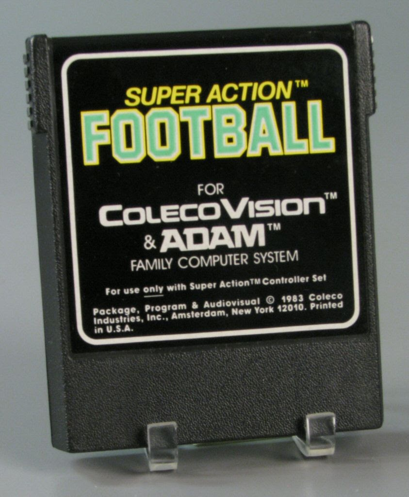 Video game:ColecoVision Super Action Football - Coleco
