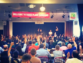 Photo: Get your hands in the air, Seattle.
