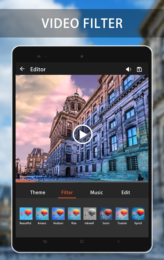 Video Maker & Video Editor Pro- screenshot