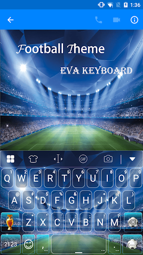 Football World -Eva Keyboard