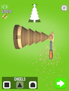 WoodTurning Mod Apk 1.9.1 [Unlimited Money + No Ads] 8