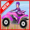 Climb ATV Racing : Girl Game icon