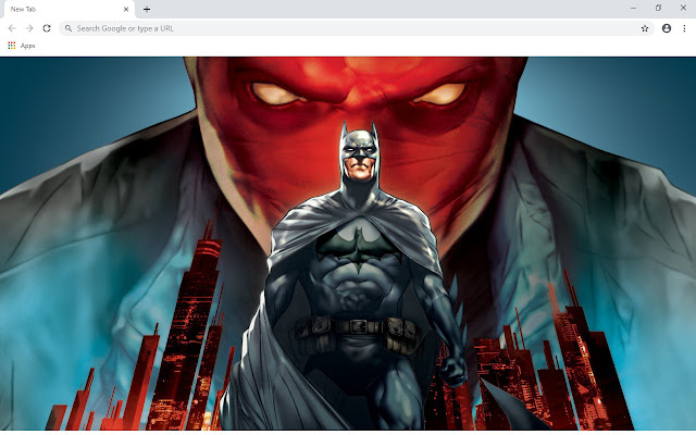 Jason Todd New Tab & Wallpapers Collection