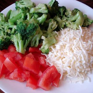 White Pizza – Vegetabes