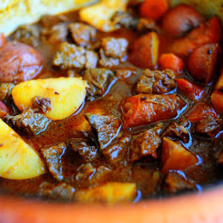 Beef Stew with Beer and Paprika.