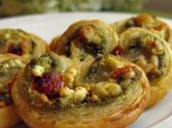 Savory Pesto Palmiers Recipe