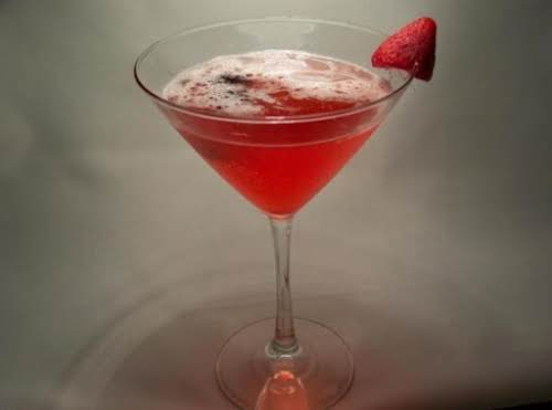"A Little Fruity Martini ""This is my idea for a martini. No..."
