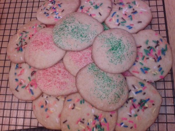 Grandma's Sour Cream Cookies Recipe