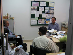 Photo: Brainstorming Session at concluding meeting with Director ZVMG Rangoonwala, SCOPE, SEF CDC & LC Karachi on International Wetland Day, Feb 02, 2008