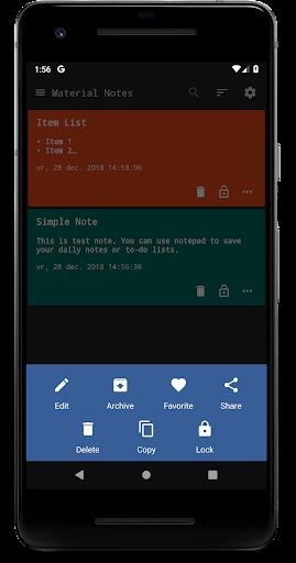 Notes (Material Notepad) 3.1.30 screenshots 5