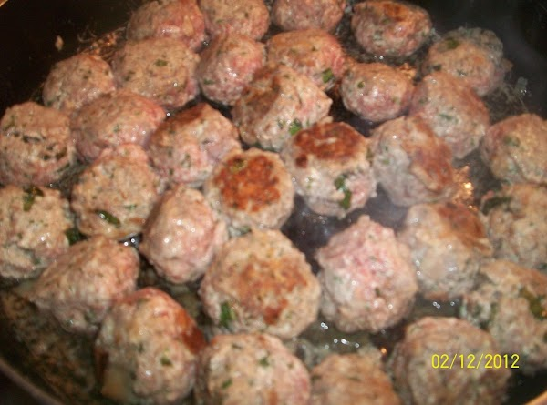 FOR MEATBALLS Preheat oven to 350*  In large mixing bowl, mix all ingredients.  Shape into...