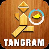 Tangram humanoid