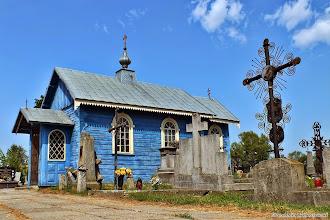Photo: Kaplica na cmentarzu prawosławnym