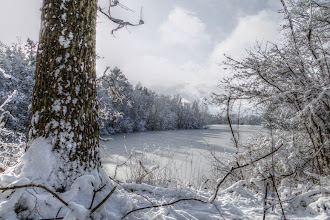 Photo: Winterzauber - Kreidebruch Klein Stubben bei Garz (HDR simuliert)