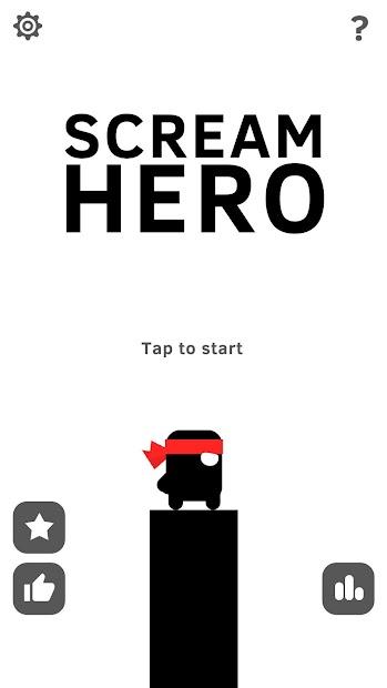 Scream Go Hero Android App Screenshot