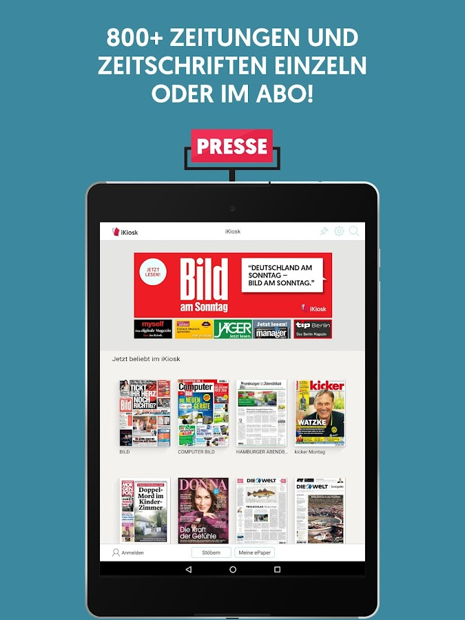 iKiosk | Digital Newspapers And Magazines- screenshot