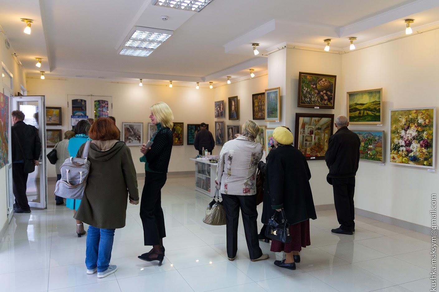 Такий розмаїтий світ мистецтва: до 23 жовтня триватиме виставка до Дня художника