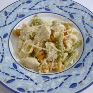 Orecchiette Pasta with Chicken in a Creamy Rosemary Lemon Sauce