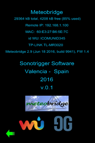 myMeteobridge- screenshot