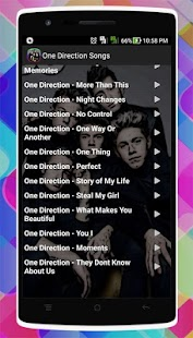 One Direction Songs - náhled