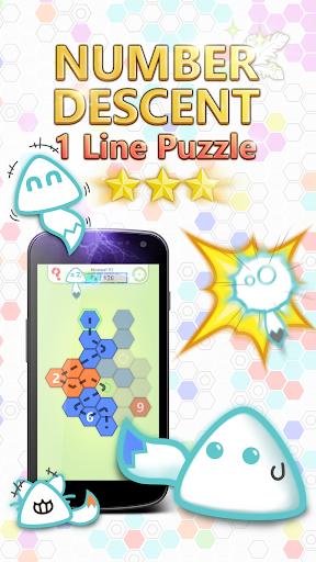 Number Descent: 1 Line Puzzle 2.9 screenshots 2