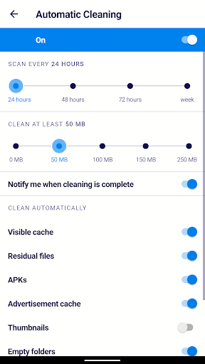 AVG Cleaner – Junk Cleaner, Memory & RAM Booster screenshot 7