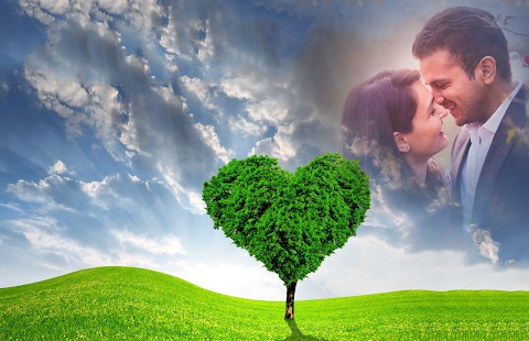 Love Tree Photo Frames - náhled