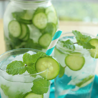 Cucumber Mint Water