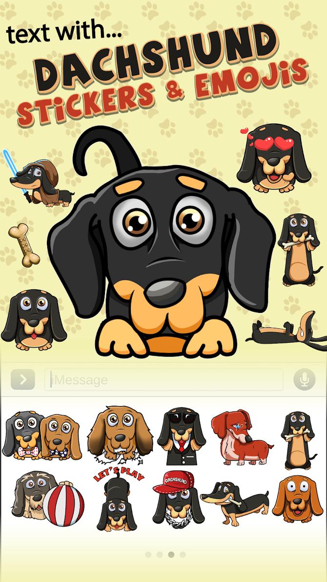 SausageMoji Stickers Android 1