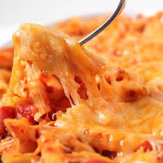 Cheesy Pasta Casserole.