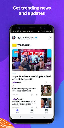 Yahoo - News, Mail, Sports 1.19.3 Screenshots 6