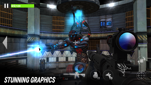 Code Triche Fire Sniper Combat: FPS 3D Shooting Game APK MOD screenshots 3