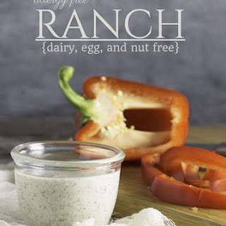 Allergy Free, Vegan Ranch Dressing Recipe (nut free, dairy free, egg free)
