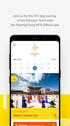 PyeongChang 2018 Official App APK screenshot thumbnail 2