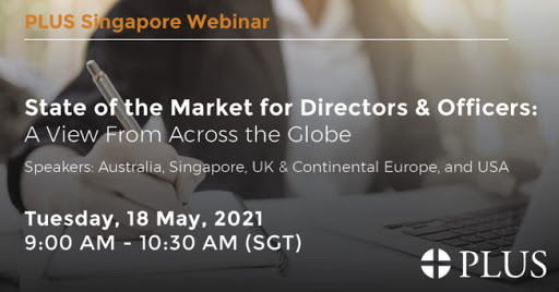 Upcoming PLUS Singapore Chapter Webinar