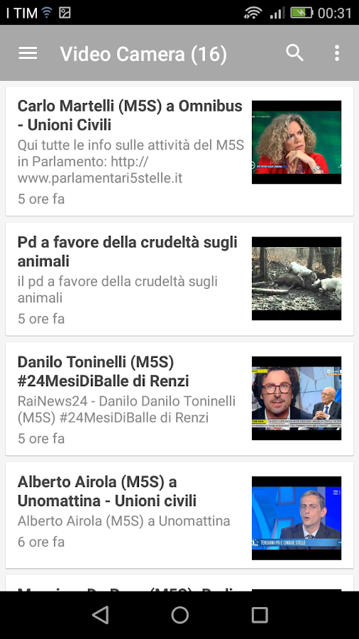 Parlamento 5 Stelle- screenshot