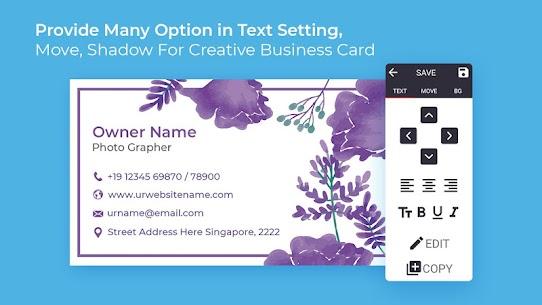 Business Card Maker Free Visiting Card Maker photo 2