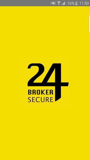 24Broker:Secure  screenshots 1