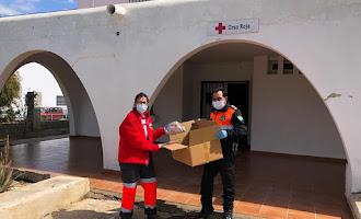 Protección Civil de Vera, volcada en ayudar