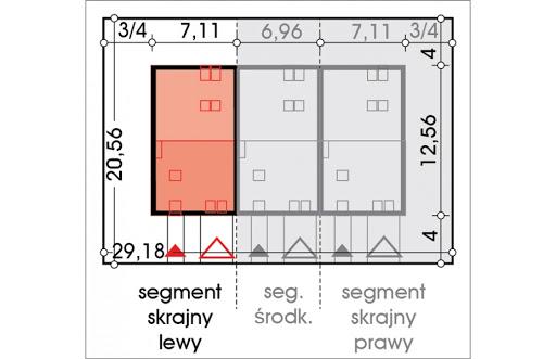 Alfa segment skrajny lewy - Sytuacja