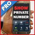 Show private number icon