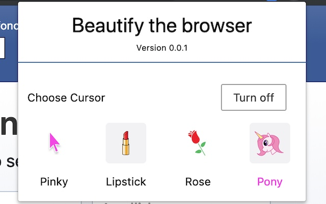 Beautify the browser