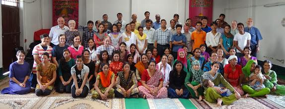 Photo: The full MTM conference group at Kathmandu, Nepal.