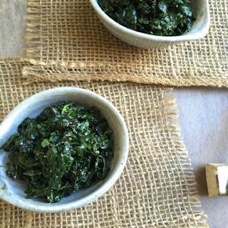 Raw Kale Goma-ae (Sesame Salad)