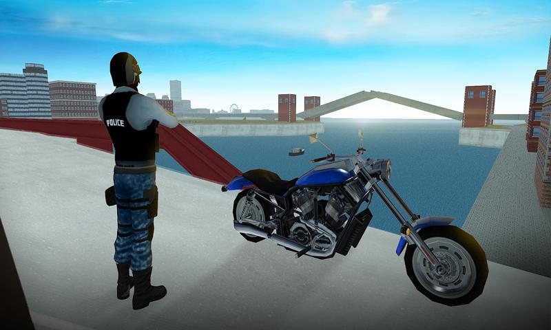 Скриншот Police Motorbike Chicago Story