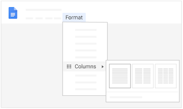 Create page columns