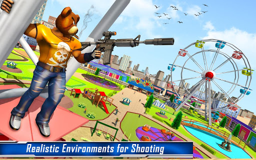 Teddy Bear Gun Strike Game: Counter Shooting Games apkmr screenshots 11